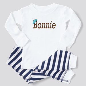 Bonnie of Bonnie and Clyde Toddler Pajamas