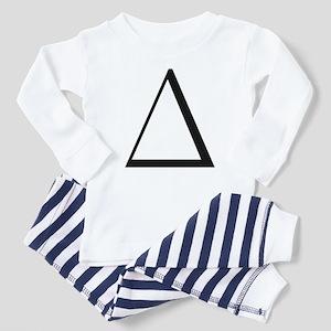 Greek Letter Delta Toddler Pajamas