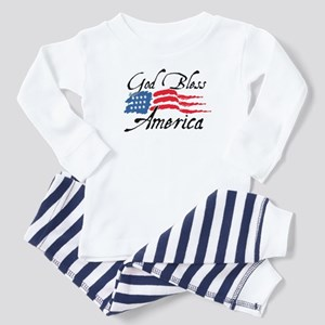 God Bless America v2 Toddler Pajamas