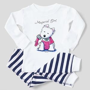 Material Girl Westie Toddler Pajamas
