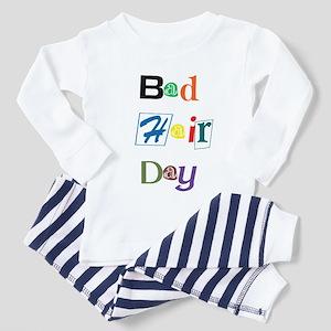 Bad Hair Day Funny Baby/Toddler Pajamas