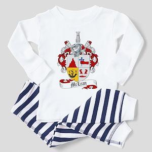McLean Family Crest Toddler Pajamas