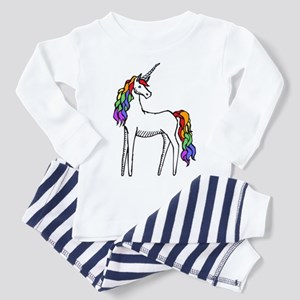 Rainbow Unicorn Toddler Pajamas