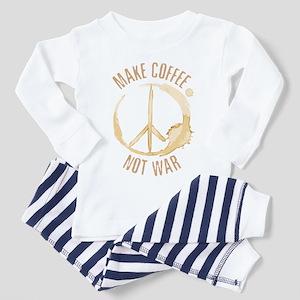 Make Coffee Toddler Pajamas