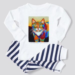 Cat-of-Many-Colors Toddler Pajamas