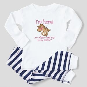 PONY Toddler Pajamas