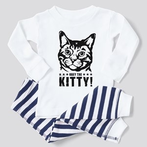 Obey the KITTY! Baby/Toddler Pajamas