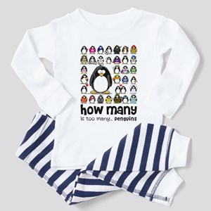 too many penguins Toddler Pajamas