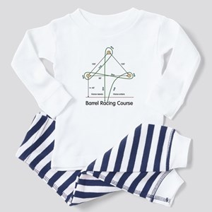 Barrel Racing Toddler Pajamas