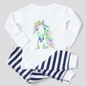 Colorful Steed Toddler Pajamas