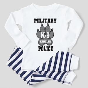 Military Police K9 Handler Toddler Pajamas