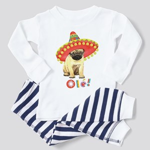 Fiesta Pug Toddler Pajamas
