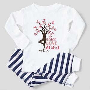 PEACE LOVE YOGA Pajamas