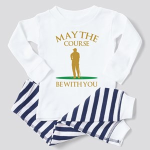 May The Course Be With You Toddler Pajamas