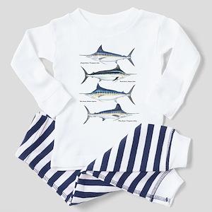 4 Marlin Toddler Pajamas