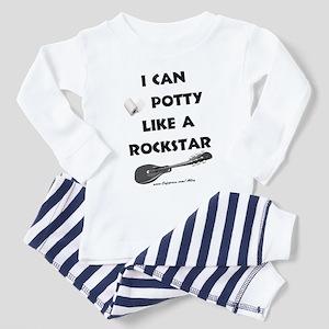Potty Rockstar Toddler Pajamas