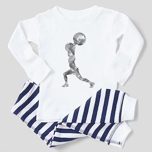 Watercolor Lift in Grey Toddler Pajamas