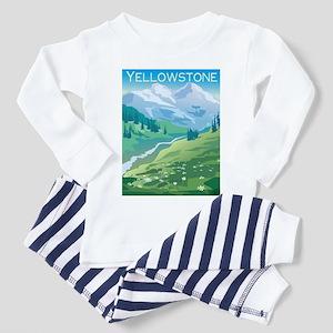 Yellowstone Toddler Pajamas