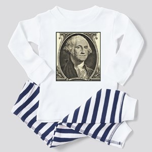 George Washington Portrait Toddler Pajamas