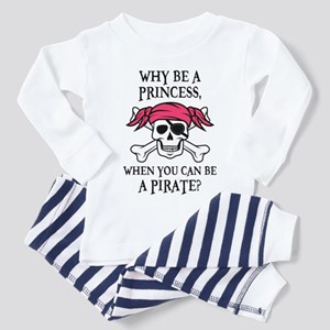 Pink Pirate Women's Cap Sleeve Pajamas