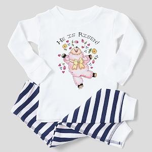 He is Risen! Lamb Toddler Pajamas