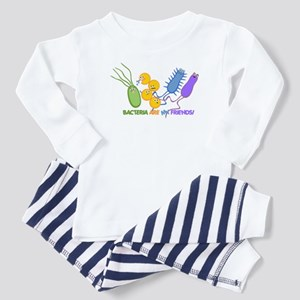 Bacteria are My Friends Toddler Pajamas