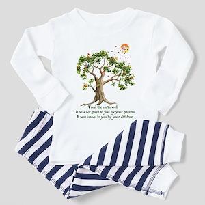 Kenyan Nature Proverb Toddler Pajamas