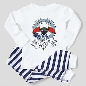 MacLeod Clan Badge Toddler Pajamas
