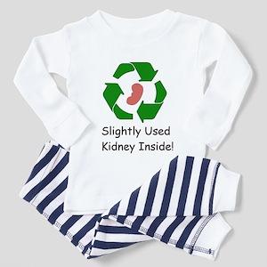 Slighty Used Kidney Inside Toddler Pajamas