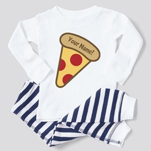 YOUR NAME Cute Pizza Pajamas