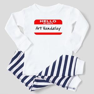 Hello My Name Is Vandelay Toddler Pajamas