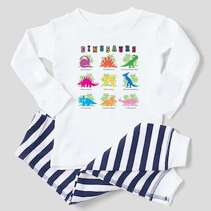 Nine Dinos Toddler Pajamas