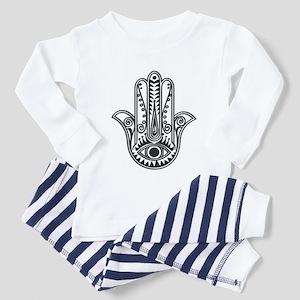 Hamsa Hand Toddler Pajamas