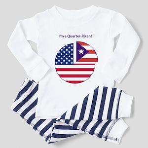 Quarter Rican Toddler Pajamas