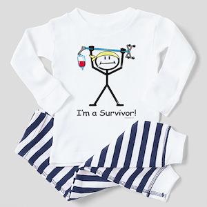 Cancer Survivor Toddler Pajamas
