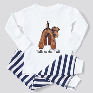 Airedale Terrier Talk Toddler Pajamas