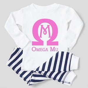Omega MU - Pink - Toddler Pajamas