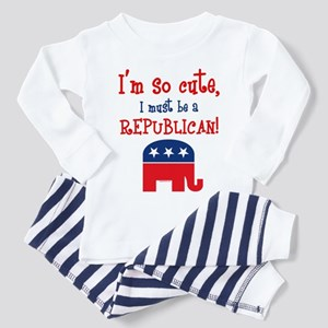 So Cute Republican Toddler Pajamas