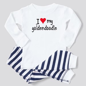 I LOVE MY Goldendoodle Toddler Pajamas