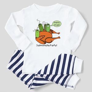 Salmonella Party Toddler Pajamas
