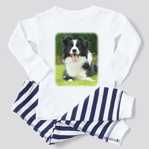 Border Collie 9A014D-14 Toddler Pajamas