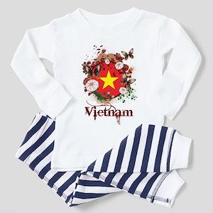 Butterfly Vietnam Toddler Pajamas