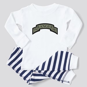 75th Ranger Regt Scroll ACU Toddler Pajamas