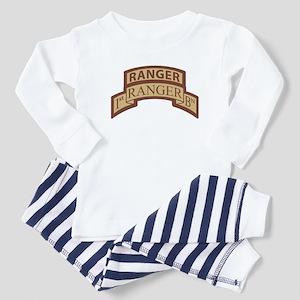 1st Ranger Bn Scroll/ Tab Des Toddler T-Shi