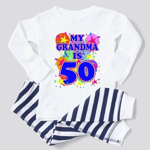GRANDMA 50 Toddler Pajamas