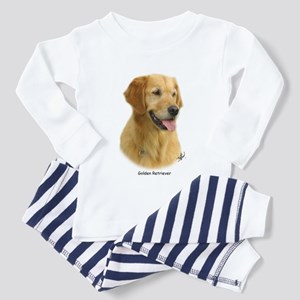 Golden Retriever 9K011D-08 Toddler Pajamas