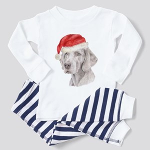 Christmas Weimaraner Toddler Pajamas