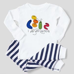 Play with Bacteria Toddler Pajamas