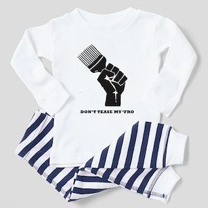 Don't Tease My FRO Toddler Pajamas
