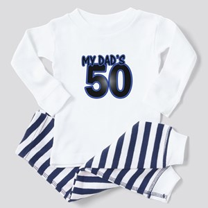Dad's 50th Birthday Toddler Pajamas